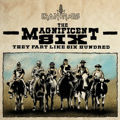 Iron Mais The Magnificent Six recensione music coast to coast
